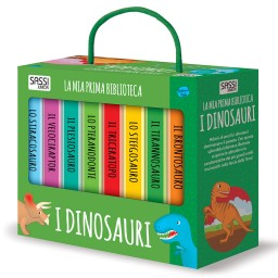 La mia prima biblioteca. I dinosauri