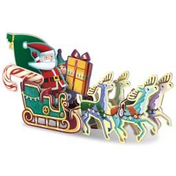Incastra e Costruisci - La Slitta di Babbo Natale