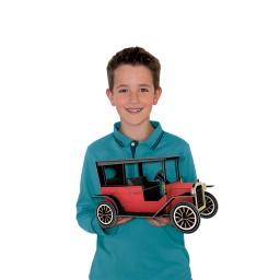 Viaggia, Conosci, Esplora. Costruisci l'automobile 3D. La storia delle auto