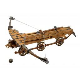 Le Macchine di Leonardo da Vinci. La catapulta e la balestra