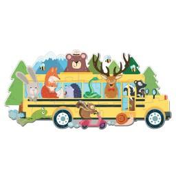 Puzzle in viaggio. Il bus degli animali