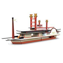 Viaggia, Conosci, Esplora. Costruisci il Battello 3D. La storia delle navi