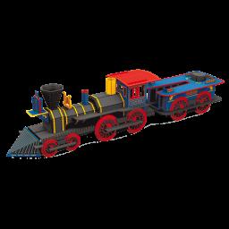 Viaggia, Conosci, Esplora. Costruisci la locomotiva 3D. La storia dei treni