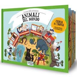 Il treno delle avventure. Animali del mondo
