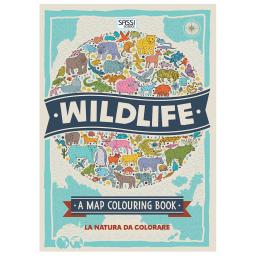 Wildlife. La natura da colorare