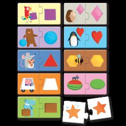 Puzzle 2. Le forme